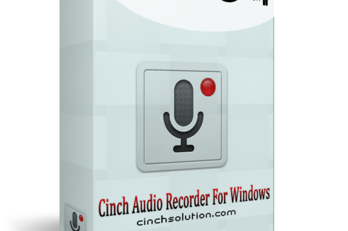 Cinch Audio Recorder Crack 4.0.2 + Serial KeyCode Full 2021 Download