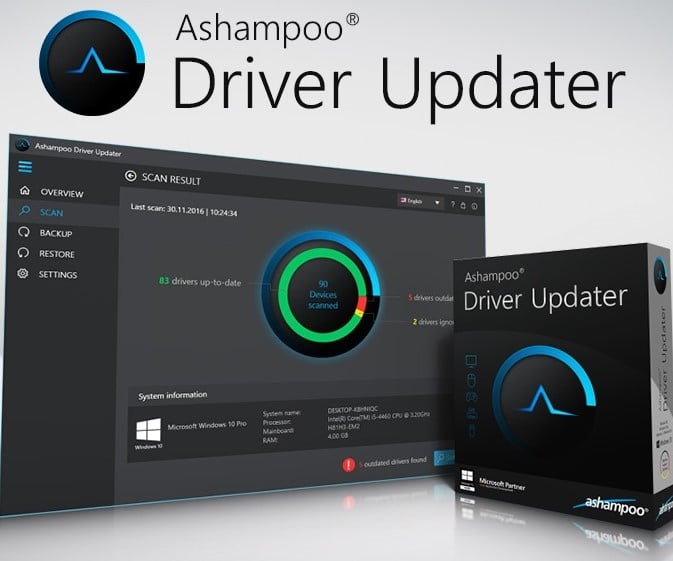 Ashampoo Driver Updater 1.5.0 Serial Key Latest Crack Version 2021