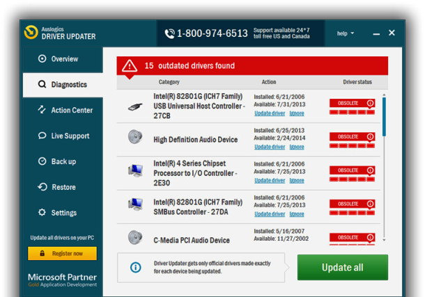 Auslogics Driver Updater 1.24.0.1 Crack with License Key Latest 2021