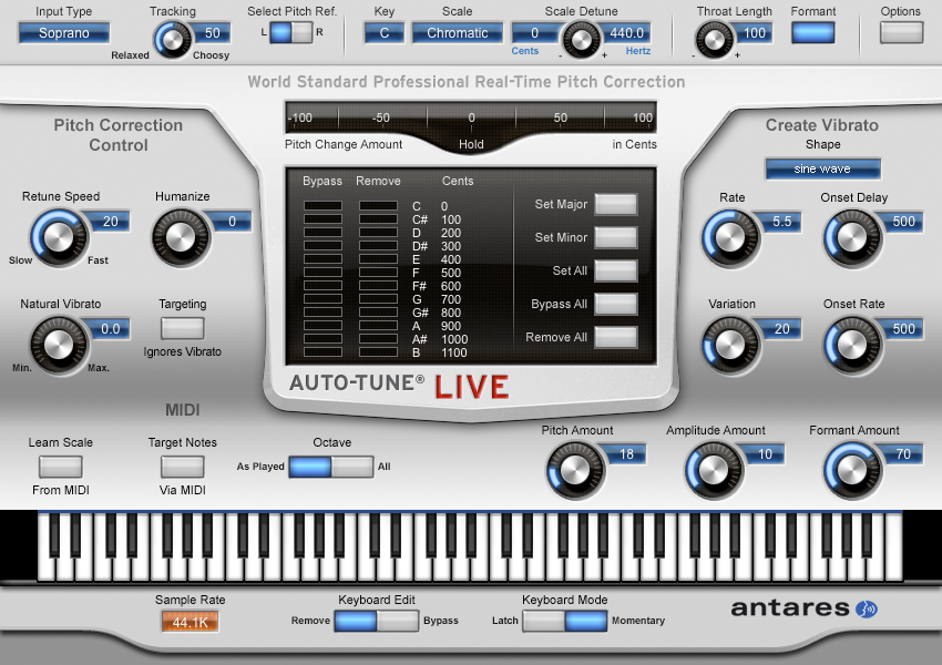 Antares AutoTune Pro 9.1.1 Serial Key with Crack Final Latest 2020