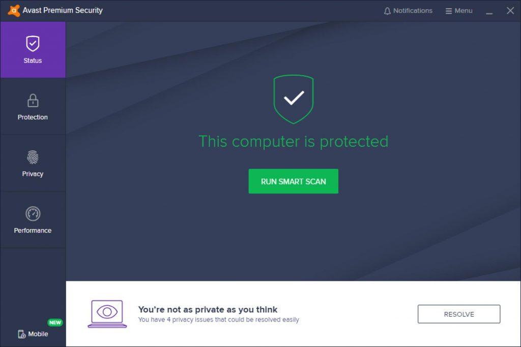 Avast Internet Security 20.10 Crack + License Key Full Download