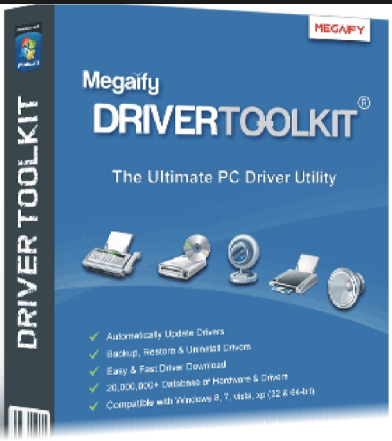 Driver Toolkit 8.9 Crack with Keygen + License Key Free Download
