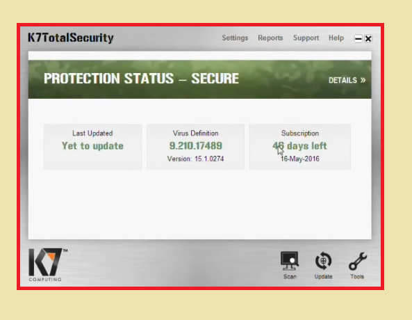 K7 Total Security 16.0.0405 Crack with Activation Key Latest 2021