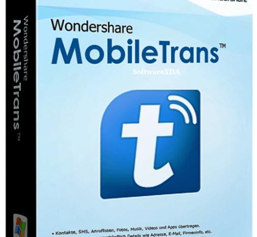 Wondershare Mobile Trans Pro 8.1.0 Crack with Full Keygen Latest 2021