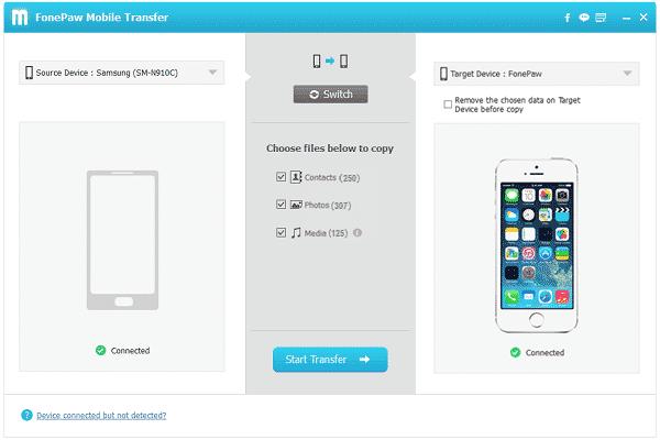 FonePaw Mobile Transfer 2.8.0 Crack + License Key Full Version (Latest)