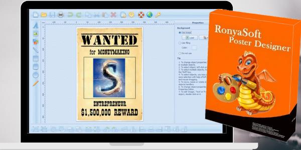 RonyaSoft Poster Designer 2.3.24 Crack Plus Serial Key Full Version