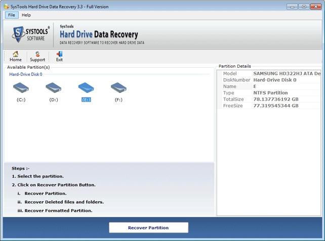 SysTools Hard Drive Data Recovery 16.1.0.0 Crack Full Download 2021
