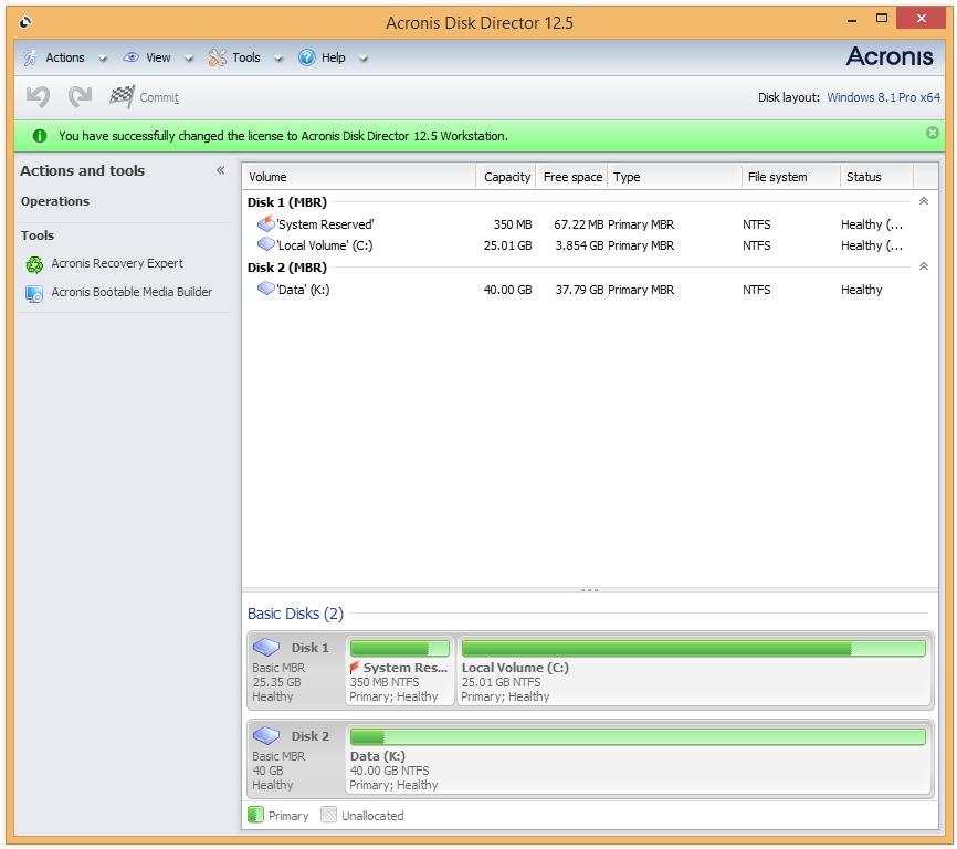 Acronis Disk Director 12.5 Build 163 Crack + License Key 2021 (Torrent)