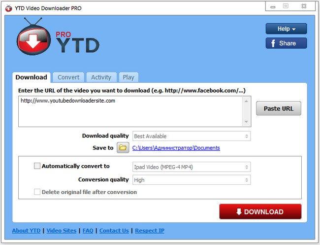 YTD Video Downloader Pro 7.3.23 Crack + License Key Full Download