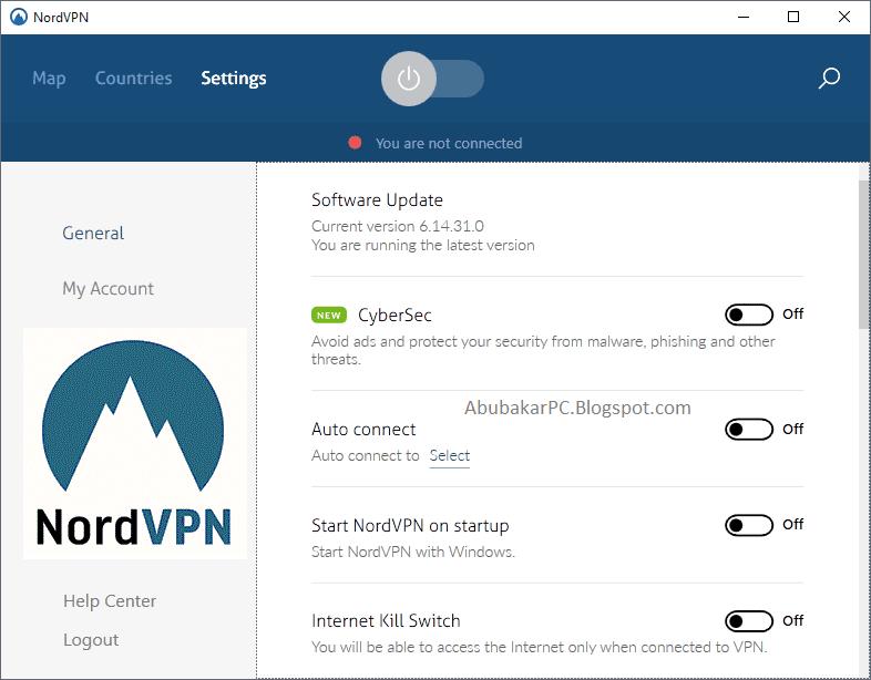 NordVPN 6.36.6.0 Crack Premium with License Key Latest (2021)