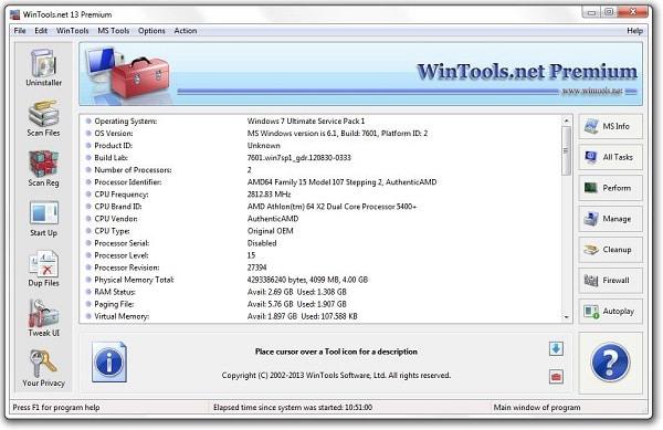 WinTools.net Premium 21.3 Crack + Registration Key Full [All Edition]